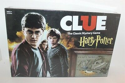 Harry Potter Clue The Classic Mystery Game Board Game Brand New Sealed 2016