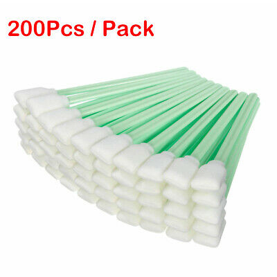 200PCS Cleaning Swabs Foam Swabs Sticks For Roland Mimaki Mutoh Epson Printer
