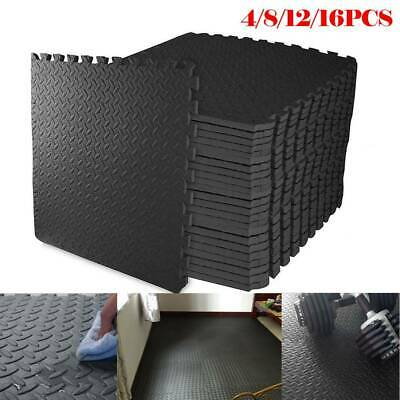 Gym floor foam Mats | Interlocking Puzzle Exercise | Protective EVA Foam Tiles