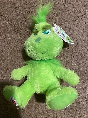 Build A Bear Young Baby Grinch Collectible Small Stuffed Doll Toy 8 Inch Mini