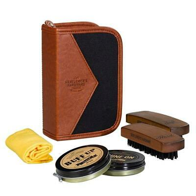 GENTLEMENS HARDWARE Shoe Shine Kit - Charcoal