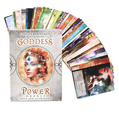 Goddess Power Oracle Card Deck and Guidebook by Colette Baron-Reid