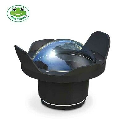 """Seafrogs 6"""" Wide Angle Dry Dome Port for Housing 80D 760D 750D A9 A7III A7R III"""