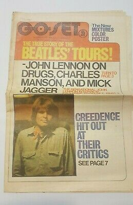 Go Set Magazine January 30 1971 Beatles Lennon Charles Manson