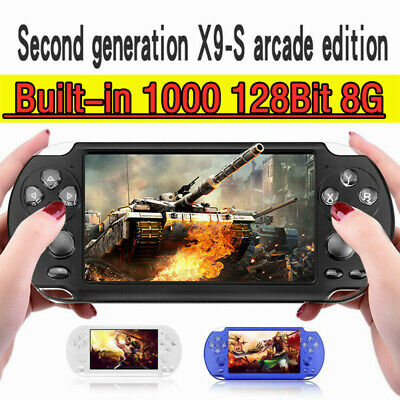 5.1'' 8GB Handheld X9-S PSP Game Consoles Player Built-in 10000 Games Portable