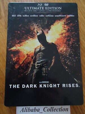 Blu Ray Bluray Steelbook -  ** Batman The Dark Knight Rises ** Dvd