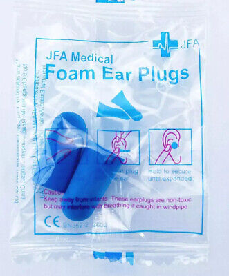 82 Pairs of Individually Wrapped Ear Plugs - for Noise Reduction including PPE,