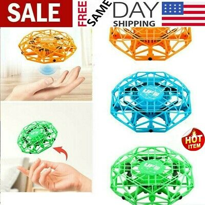 Mini Drones 360° Rotating Smart Mini UFO Drone for Kids Flying Toys Xmas Toy US#