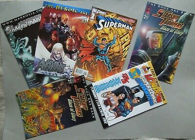 Small Bundle / Lot Of Comics Handed Out At The London Super Comic Con 2012