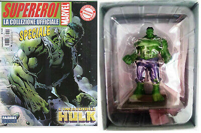 Eaglemoss Supereroi Marvel Vendicatori Hulk MOONSTONE Statuina Piombo MIB 2013