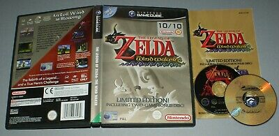 The Legend of Zelda Wind Waker Limited Edition - Nintendo Gamecube Ocarina Time