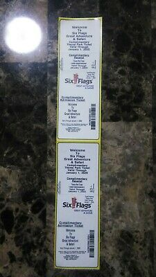 Six Flags Great Adventure Tickets ( Expires on January 1st 2020)