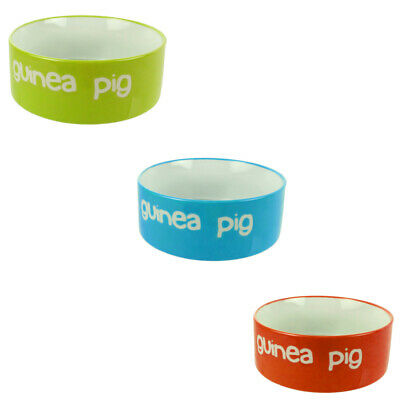 Bright Guinea Pig Watering/Feeding Bowl Assorted Colours RETURNS
