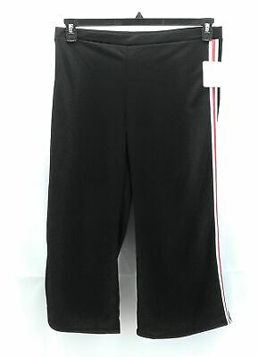 Blu Planet Pants Womens Plus Size 2X Black Cropped