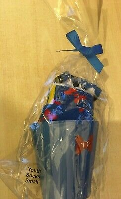 BNIP New Disney Parks Donald Duck Cupcake Socks for Kids Size Youth Small