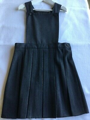 🍎Marks & Spencer🍎Girls School Grey Pinafore🍎Size 7 Years🍎Excellent🍎