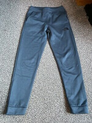 boys north face tracksuit bottoms LG