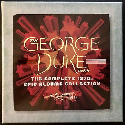 George Duke: The  Complete 1970s Epic Albums Collection (6CD box, Jun-2012)