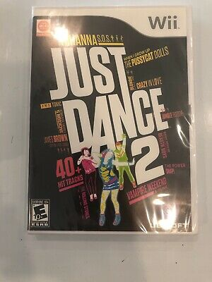 Just Dance 2 (Nintendo Wii, 2010) Factory Sealed Fast Free Ship