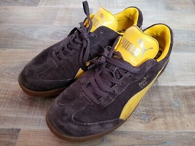 PUMA LIGA MENS Leather Trainers Shoes 353149 09 UK 12 T464