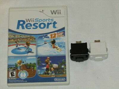 Nintendo Wii Sports Resort Game Bundle with 2 motion Plus