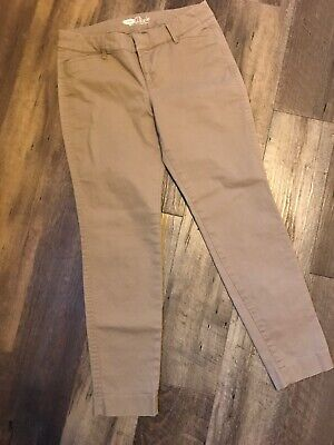 Old Navy Womens Pixie Pants Size 2 Beige Tan Casual Work