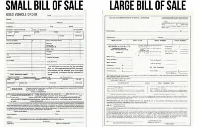 Bill Of Sale Memorandum Of Installment Sale Forms