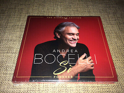 Andrea Bocelli - Si Forever - The Diamond Edition - Lim. Autographed / Signed Cd