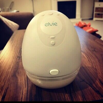 Elvie Double Breast Pump Electric Silent Wearable - NEW Open Box