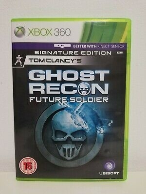 Tom Clancys Ghost Recon: Future Soldier Signature Edition Xbox 360 Mint Complete