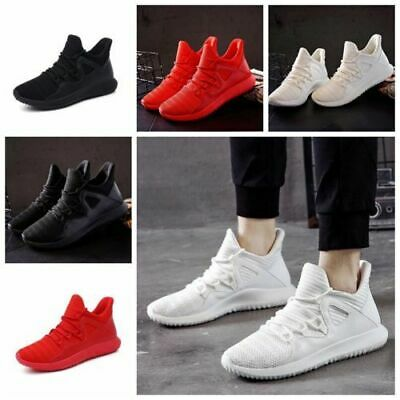 Men Running Sport Shoe Soft Breathable Mesh Sneaker Casual Athletic Trainer