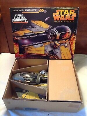 Vintage Hasbro Star Wars Anakin's Jedi Star Fighter In Original Box