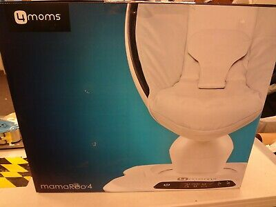 4Moms Mamaroo 4 Infant Reclining Seat Rocker Bouncer Swing Classic Grey NEW