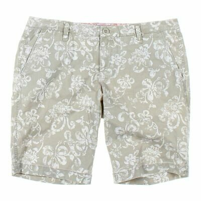 Arizona Girls Capri Pants size JR 9,  beige,  cotton, spandex