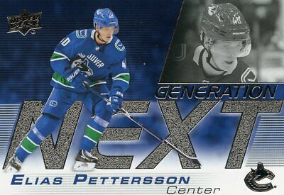 2019-20 Upper Deck Series 1 inserts. Generation Next, Pure Energy, UD Portraits