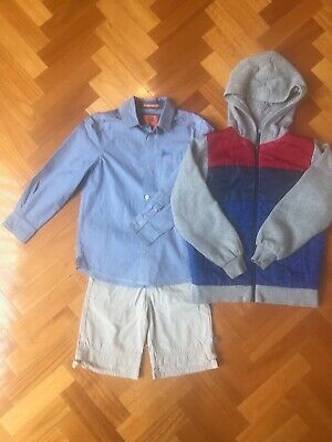 Boys Clothing Bulk Set - Mooks Shirt Scooter Shorts Target Hoodie Size 9
