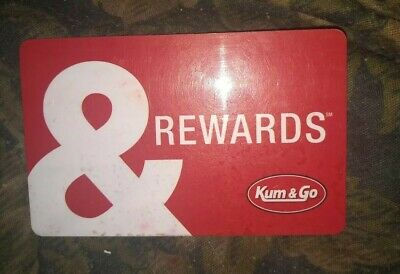 Kum & Go * Used Collectible - Rewards Card NO VALUE *