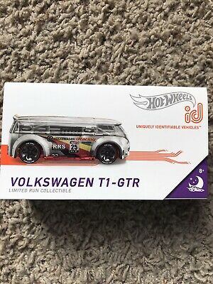 """2019 Hot Wheels """"id Car""""~Volkswagen T1-GTR~FREE SHIPPING in the US!!!"""