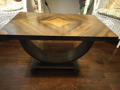Art Deco Parquetry Top Coffee Table