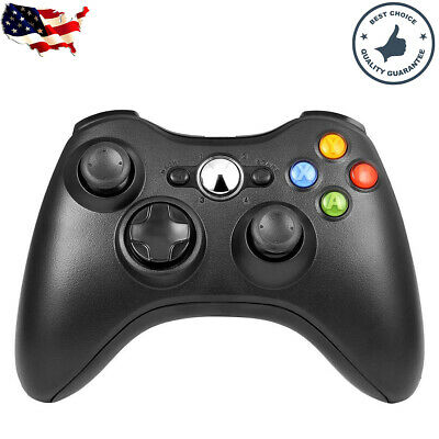 Wired/Wireless Game USB Controller Gamepad Joystick for Microsoft Xbox 360 & PC