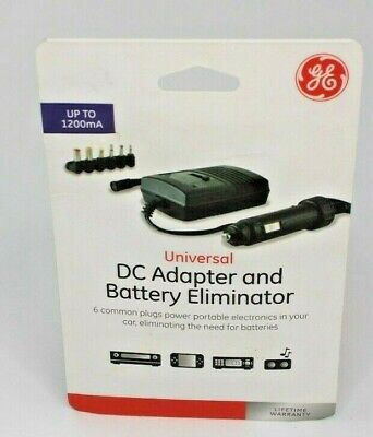 Jasco Universal DC Adapter And Battery Eliminator