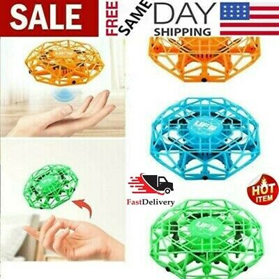 Mini Drones 360° Rotating Smart Mini UFO Drone for Kids Flying Toys Xmas Toy 凵SA