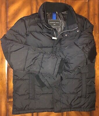 Andrew Marc Men/'s Full Zip Puffer Jacket Wind//Water Resistant Shell M-L VARIETY!