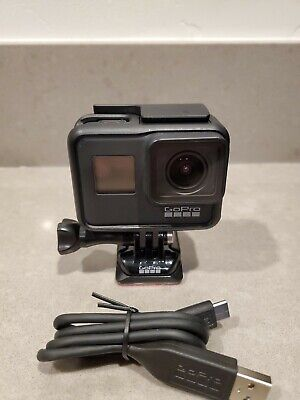 GoPro HERO7 Black Waterproof 4K 12MP Action Camera Camcorder w/ USB-C Cable
