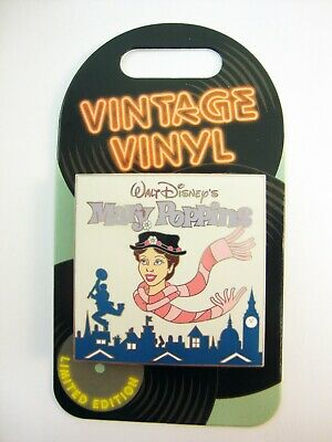 DISNEY Parks Pin of the Month VINTAGE Vinyl MARY POPPINS LE3000