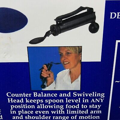 Patterson Medical Steady Spoon Adult Handle Self Stabilizing #1100