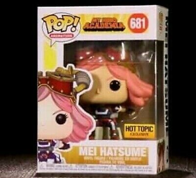 Funko Pop Animation #681 Mei Hatsume My Hero Academia Hot Topic Excl PreOrder