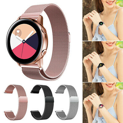 For Samsung Galaxy Watch Active 2 42mm 40mm 44mm Silicone Band Magnetic US