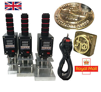 Electrical Branding Iron For Leather, Wood 500W 220V UK standar plug. NO BRASS!