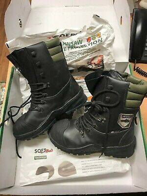 Cofra power boot, chainsaw class 2. Suitable for Stihl and Husqvarna users,